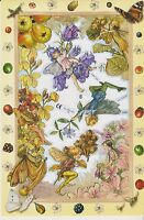 1 Bogen Glanzbilder Poesie Flower Fairies Blumenelfen MLP 2060 Nr.769