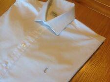 Men's Smart White Yves Saint Laurent YSL Long Sleeved Shirt Size Large
