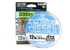 Sunline P.E Line X4 Ultra Jigger 200m P.E 0.8 12Lb (3183)