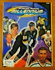 Mario Lemieux Signed Pittsburgh Hockey Magazine 2000 w/ Psa/Dna Sticker No Card