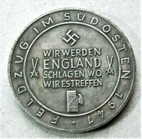 WW2 GERMAN COMMEMORATIVE COLLECTORS REICHSMARK COIN '41...