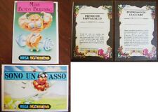 2 figurine sticker card mega sgorbions 1990 the topps company inc garbage gang