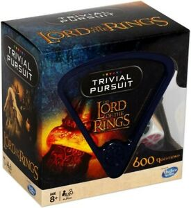 NEW Lord Of The Rings Trivial Pursuit Game from Mr Toys