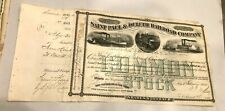 1880, Saint Paul & Duluth Railroad 100 Common Stock Certificate,