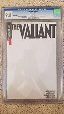 VEI The Valiant #1 Blank Sketch Variant CGC 9.8 Valiant # 1 comic