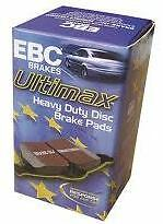 FULL VEHICLE SET NISSAN ELGRAND E51 E52 EBC ULTIMAX Disc Brake Pads