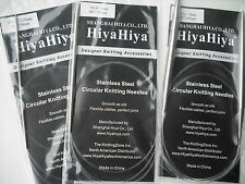 "HiyaHiya 7.0mm x 100cm (40"") Stainless Steel Circular Knitting Needles"