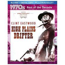HIGH PLAINS DRIFTER    (Blu-ray + Digital) with Slipcover   LIKE NEW