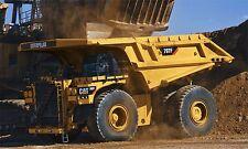 """CAT CATERPILLAR 797F ROCK TRUCK DUMP TRUCK LARGE 40"""" x 24"""" HD SHOP POSTER"""