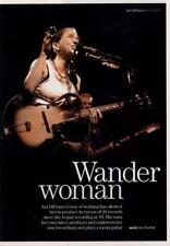 Ani DiFranco UK 'Guitarist' Interview Clipping
