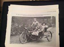 74-9 ephemera reprint picture crumlin e cuff norton motorcycle 1911