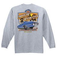 2016 Cruisin official classic car show t-shirt gray long sleeve Ocean City MD