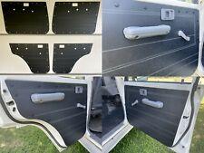 Toyota Landcruiser VDJ76 VDJ79 Manual ABS Door Panels Rugged & Waterproof -Black