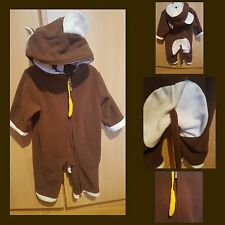 Affen kostüm overall fasching anzug Gr.  6-12monate