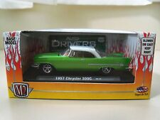 M2 MACHINES - AUTO-DRIVERS - 1957 CHRYSLER 300C (GREEN) 1/64 DIECAST MODEL