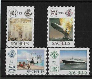 Seychelles 1988 Lloyds of London Anniversary MNH