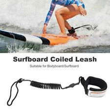 5mm Stand Up Paddle Board Surfboard Ankle Leash Surfing String Foot Rope Coiled