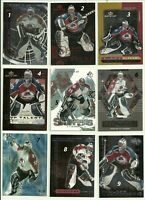 1999 99-00 UD UPPER-DECK MVP LAST LINE OF DEFENSE AVALANCHE PATRICK ROY #LL3