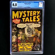 MYSTERY TALES #6 (Atlas 1952) 💥 CGC 4.0 💥 Rare! Atom Bomb panel PCH Horror