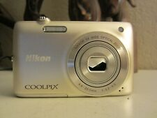 Nikon COOLPIX S4100 14.0MP Digital Camera - Silver