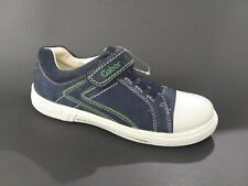 New $90 Gabor Kids Girls Shoes Sneakers Navy Strap Leather Sz 1.5 Usa/33 Euro