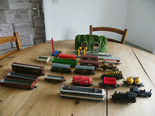 LOCOS JOUEF + MARKLIN + WAGONS + STATION LAVAGE