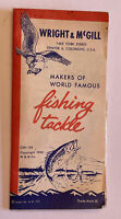 Wright & McGill Fishing Tackle  Advertising Brochure Denver, CO 1954