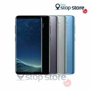 Samsung Galaxy S8 64GB Android Unlocked Mobile Phone UK Stock - All Colours