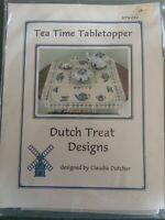 Cross Stitch Kit Tea Time Tabletopper