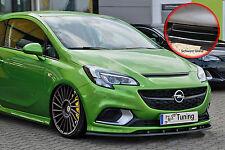 Spoilerschwert Frontspoilerlippe ABS Opel Corsa E OPC mit ABE schwarz glänzend