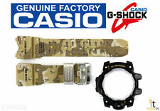 CASIO G-Shock Mudmaster GWG-1000DC-1A Camo Rubber Watch Band & Black Bezel Combo