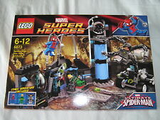 LEGO Marvel Super Heroes Spider Man Doc Ock Ambush 6873 new retired