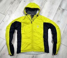 LOKI Solved Ski Snow Jacket PRIMALOFT Insulated Hooded Mens Size L