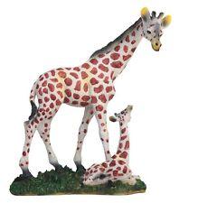 """7.5"""" Giraffe Statue Sculpture Figure Wild Animal Figurine Safari Decor"""