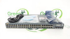 Aruba Networks S2500-48P 48- Port Gigabit Ethernet PoE w/ 4x SFP Switch READ**