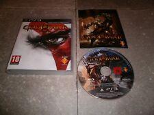JEU PS3 PAL Ver. Française: GOD OF WAR III - Complet TBE