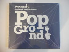 POPGROUND II : GREAT POP & ROCK FROM FLANDERS - [ CD ALBUM NEUF ] - PORT GRATUIT