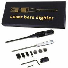 Red Laser BoreSighter kit for 0.22 to 0.5 Caliber Rifles Handgun Dot Bore Sight