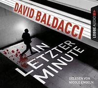 DAVID BALDACCI - IN LETZTER MINUTE 6 CD NEW