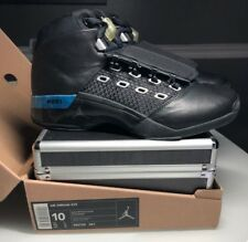 cheaper 0eabf 4184c AIR JORDAN XVII 17 SIZE 10 BLACK METALLIC SILVER Brand New w Case