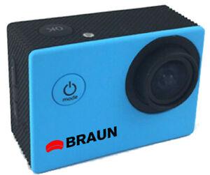 Braun Paxi Junge HD Action Kamera (Blau)