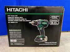 "Brushless Hitachi Cordless drill/Driver HXP 1/2"" Chuck DS 18DBDL2 (S)"