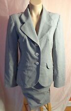 Kenzo Jungle Wool Suit Skirt Size 40 with Blazer Size 38 USA Made in France NWOT