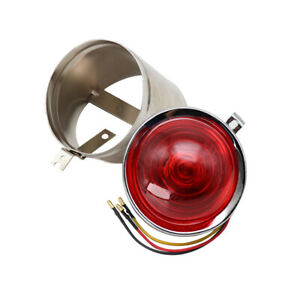 Motorcycle Rear Light Taillight Lamp Plating For ural M72 BMW R12 R71