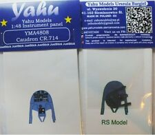 Yahu models YMA4808 1/48 pe caudron CR.714 cyklone instrument panel rs models