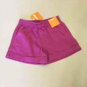 NWT Gymboree Girls Shorts Summer Plum 4,5,6,8,10,12,14