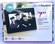 "NEW! Aluratek 7"" Digital Photo Frame w/ Auto Slideshow Feature ADPFWM7S/ADPF07S"