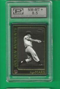 2001 Topps Chrome Roger Maris New York Yankees #308  🚀😳💥 PGC Graded 8.5