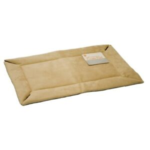 """K&H Pet Products Self-Warming Crate Pad Extra Small Tan 14"""" x 22"""" x 0.5"""" KH7900"""