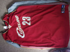 Rare Vintage REEBOK LeBron James Cleveland Cavaliers Sewn Jersey Size 60 (3XL?)